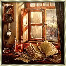 proljetne kapi klize niz prozor…