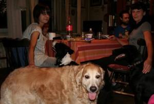 Ozana, Miha, Josip, Lisa i ja
